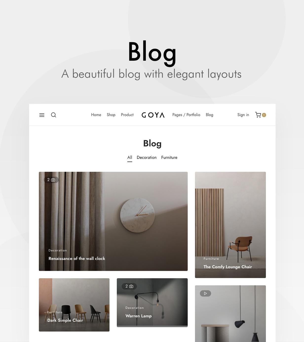 Goya – Modern WooCommerce Theme, Gobase64