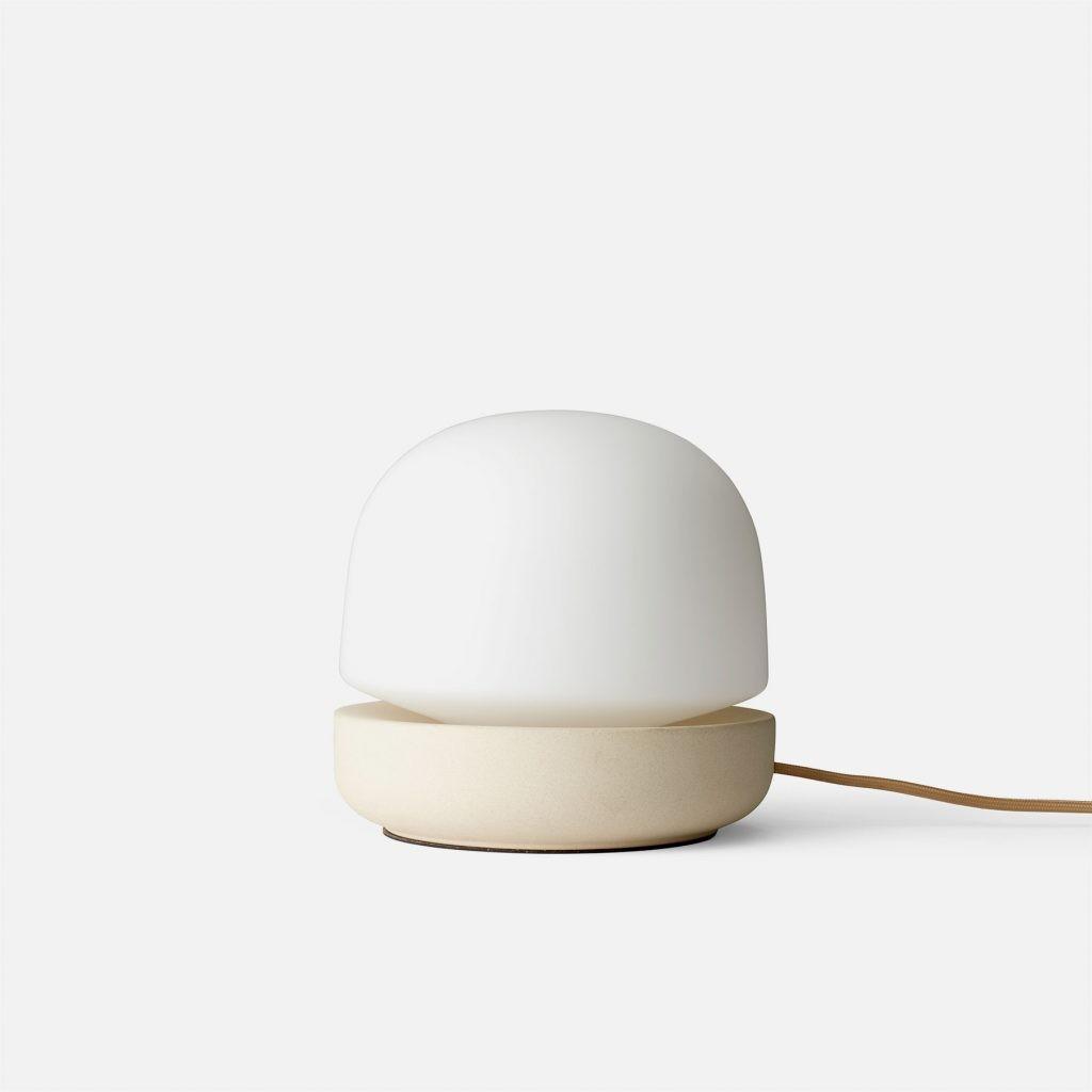 stone lamp white